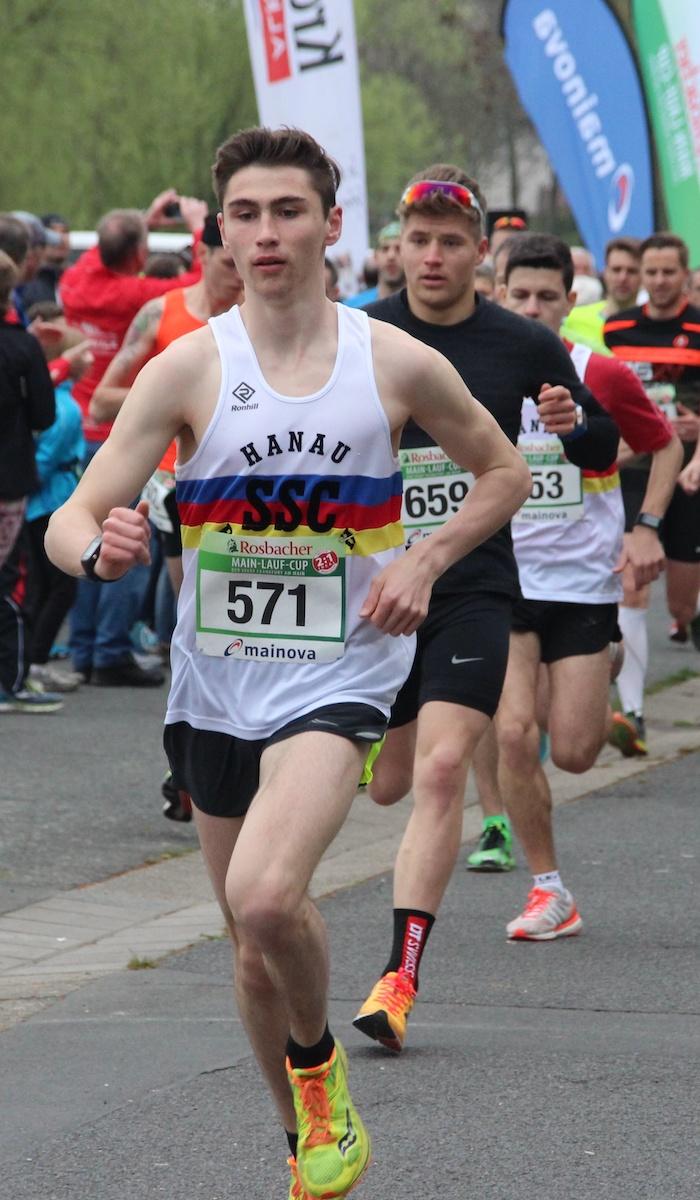 Aaron Bienenfeld mit Streckenrekord