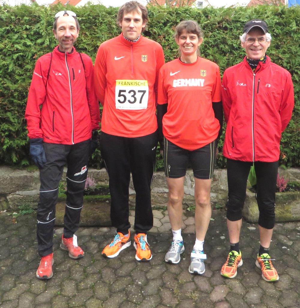 Nationalkaderlehrgang für 100-Kilometer-Läufer