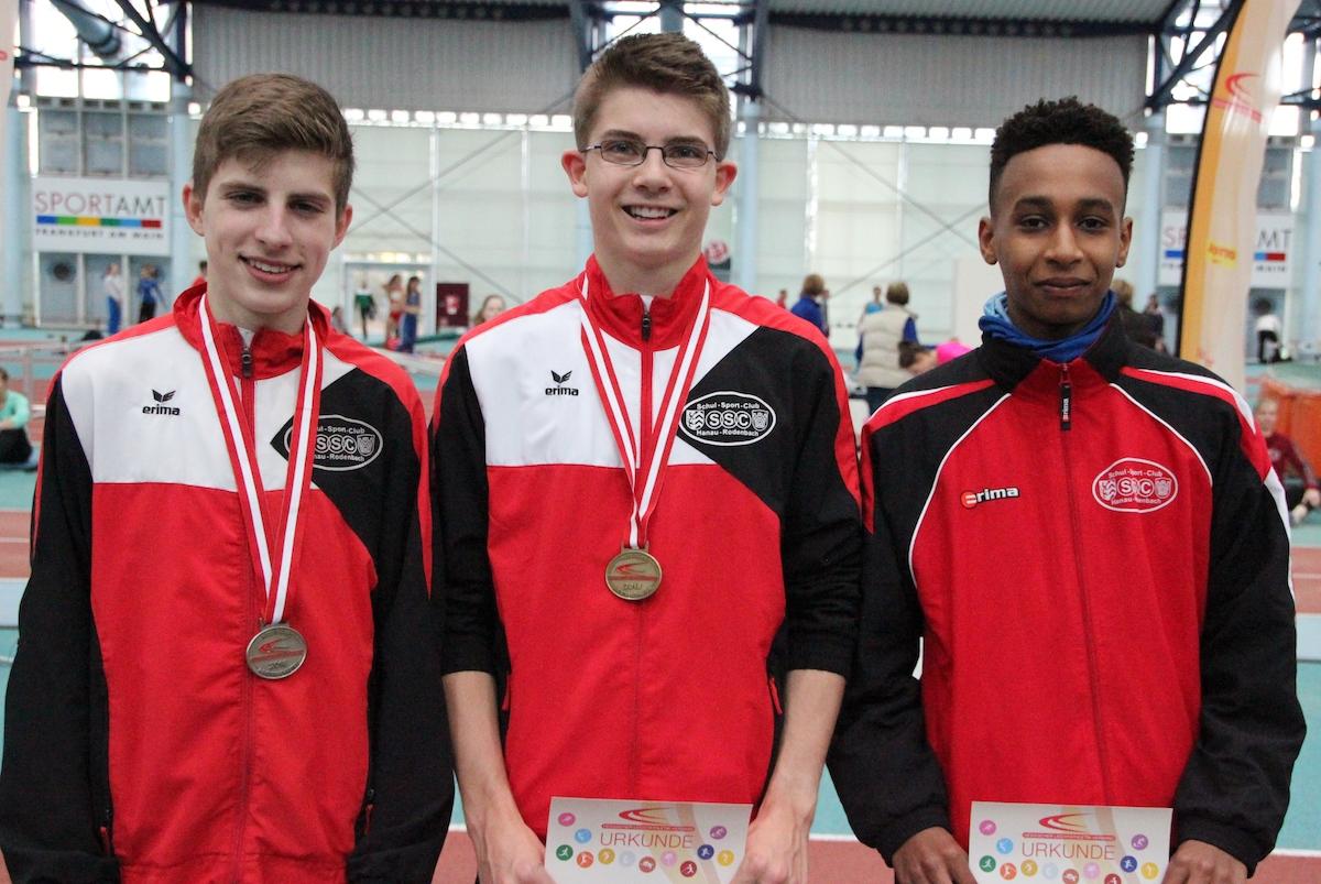 SSC-Jugend mit Dreifach-Gold
