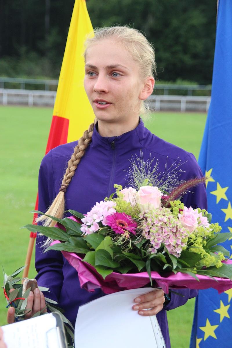 Lisa Oed bei Leichtathletik-Wahl Fünfte