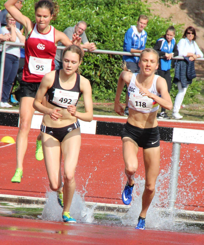 Lisa Oed auf zwei WM-Strecken qualifiziert