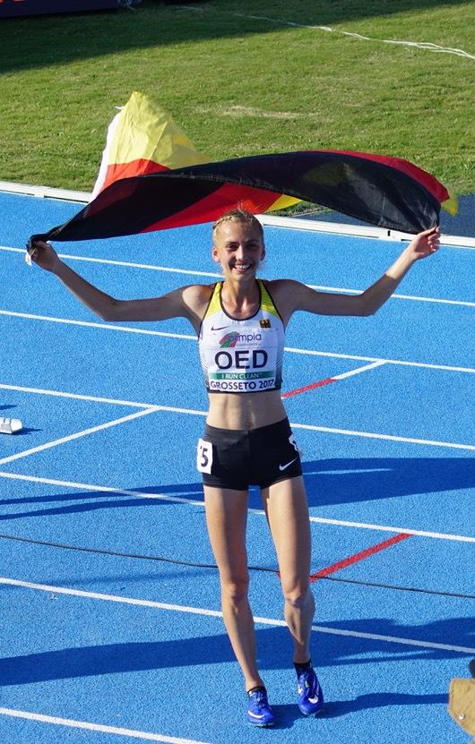 Lisa Oed im U20-WM-Finale