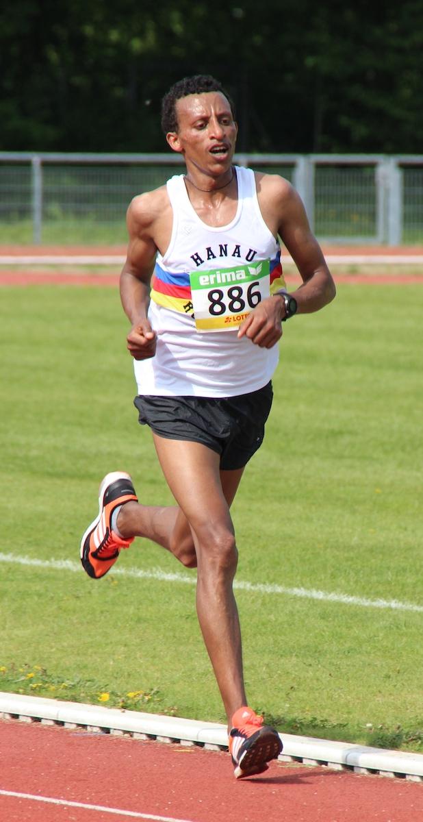 Solomon Merne Eshete läuft in Frankfurt um Hessentitel und mehr