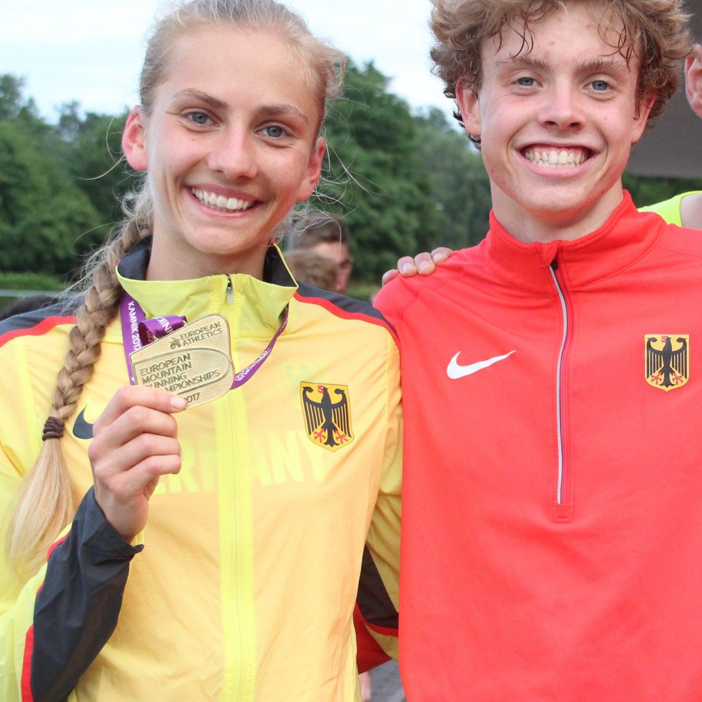 Lisa Oed und Julius Hild Deutschland-Cup-Sieger