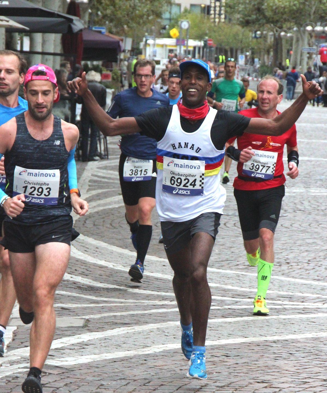 Regionale Ergebnisse des Frankfurt-Marathons