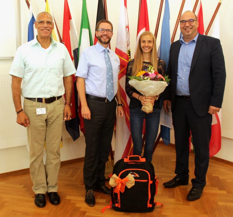 Lisa Oed zweifache deutsche Meisterin