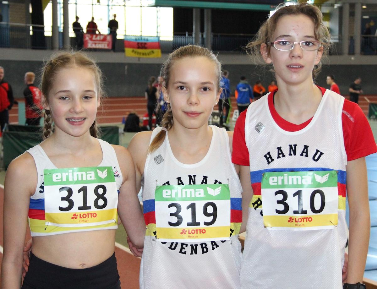 Drei SSC-Schüler starteten im Hessenteam