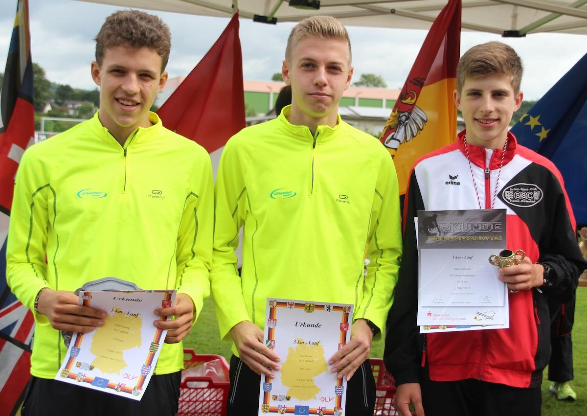 Sachsenrekord beim SSC Hanau-Rodenbach