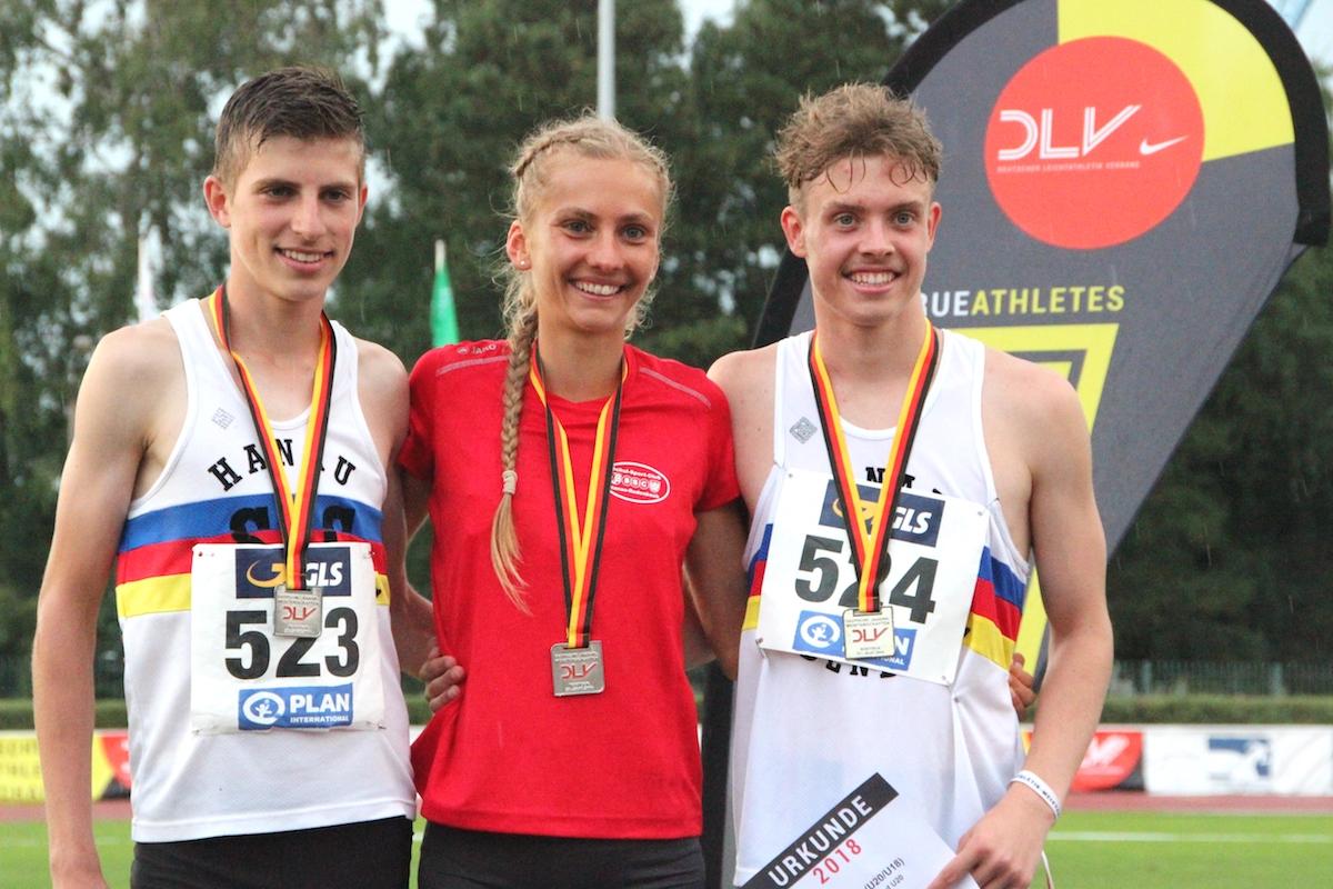 Lisa Oed mit ihrer achten Deutschen Meisterschaft