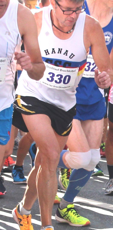 Peter Jamin startet beim Frankfurt-Marathon