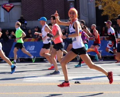Lisa Oed schnellste Deutsche in New York
