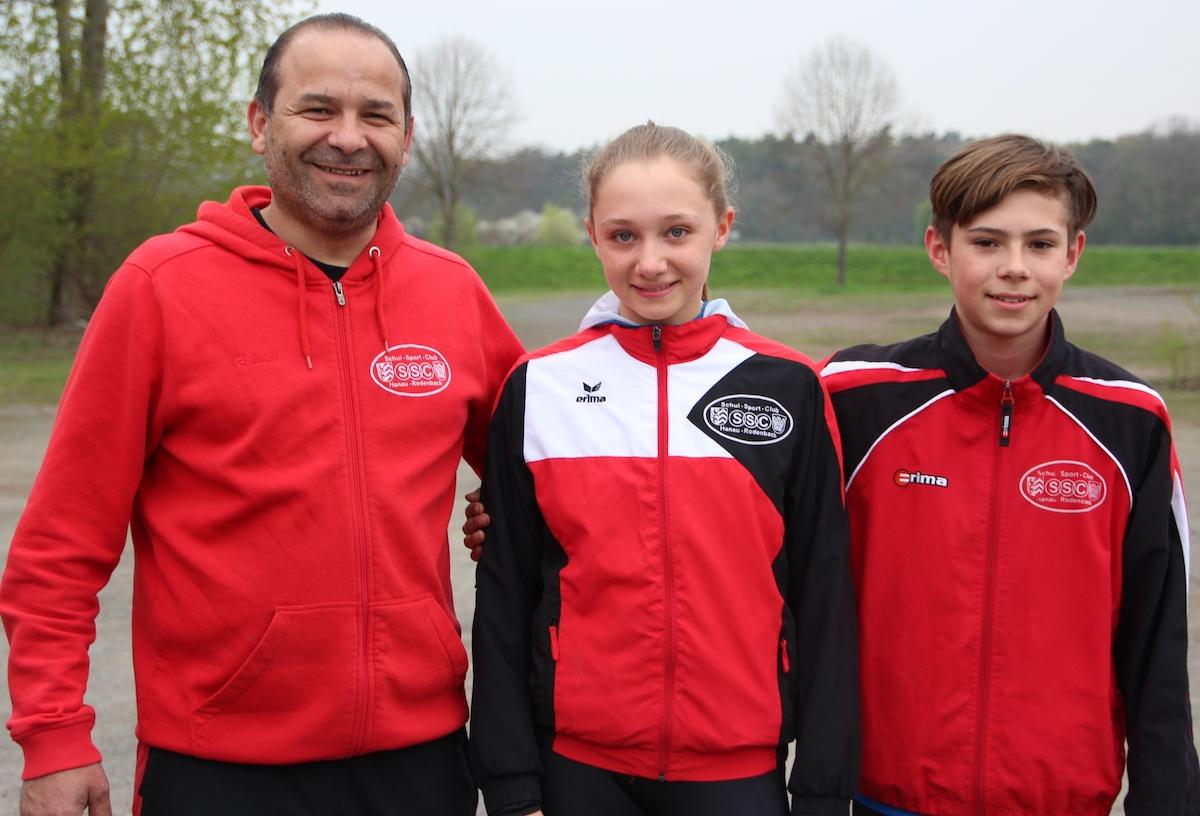 Drei Hessenmeistertitel für SSC-Schülergruppe