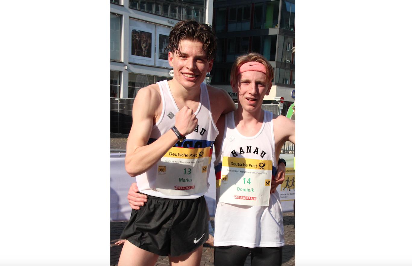 SSC-Jugend gewinnt Bonner Halbmarathon