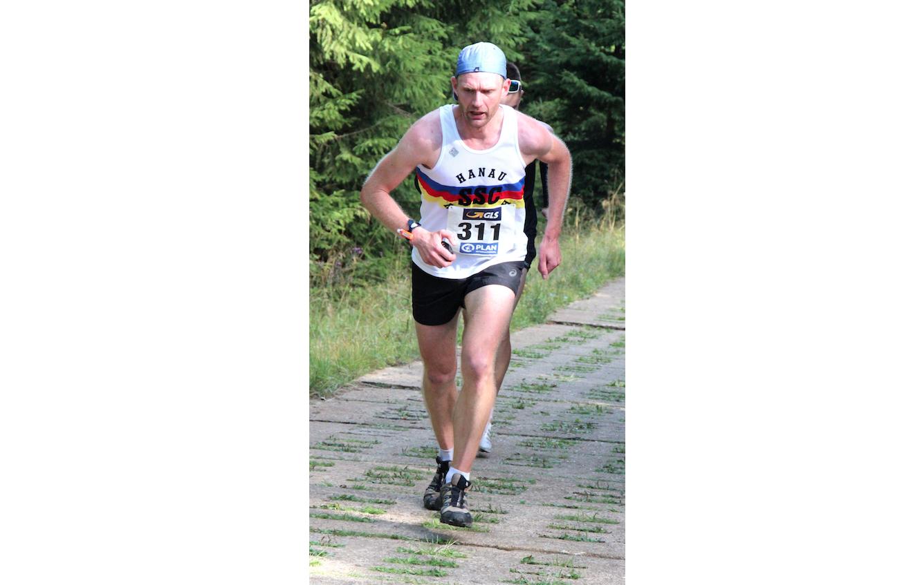 Jörn Harland beim Alpenmarathon erfolgreich
