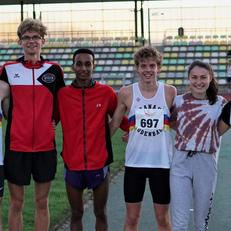 Julius Hild läuft in Deutschlands Top ten