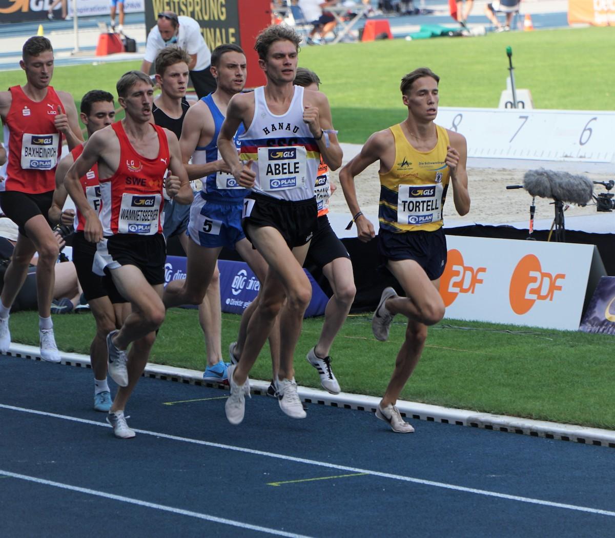 Lukas Abele steht zur Sportler-des-Jahres-Wahl