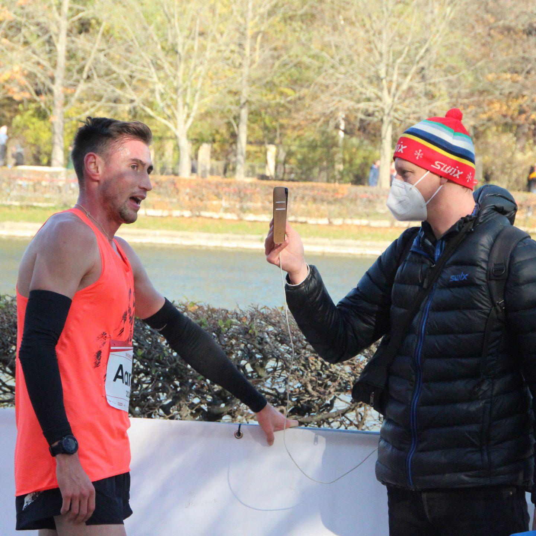 Aaron Bienenfeld mit Halbmarathon-Kreisrekord in 1:02:32 Stunden als verspätete WM-Norm