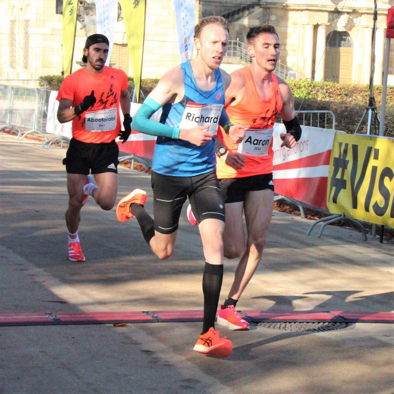 Aaron Bienenfeld Halbmarathon in 1:02:32h Rang 14 ewige Deutsche Bestenliste – Nationalkadernorm