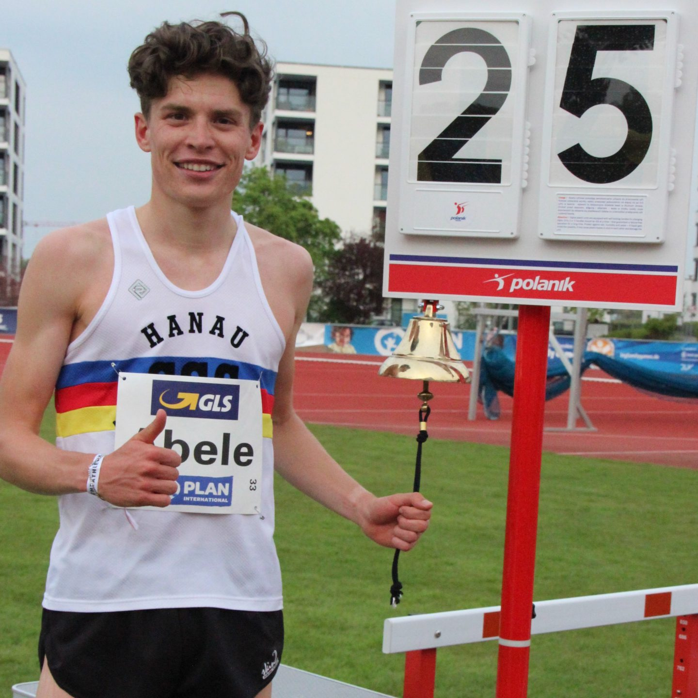 Marius Abele Deutscher Junioren-Vizemeister