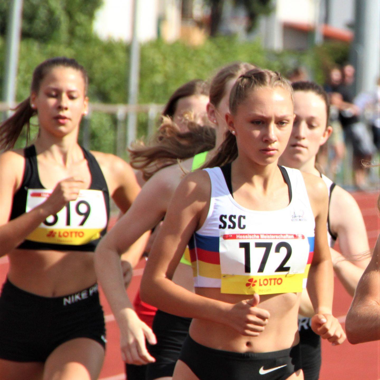 Vanessa Mikitenko als Jahrgangsschnellste auf Rang 4 bei Deutscher U18-Meisterschaft in Rostock!