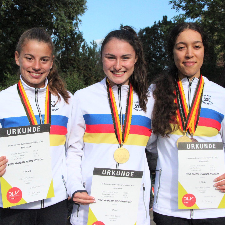 Berglauf-Gold für Harland (M40) und Jugend-Team – 2xGold, 2xSilber, 3xBronze