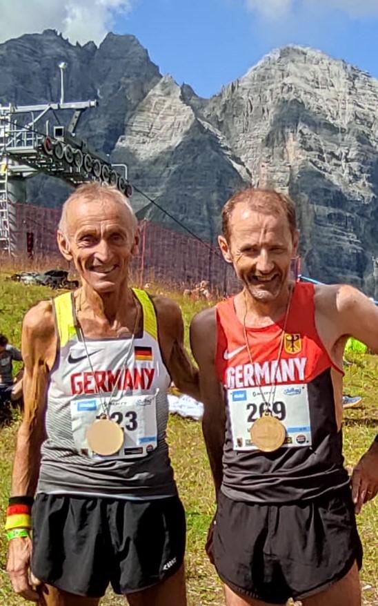 Senioren-WM-Berglauf-Silber für Markus Riefer (M55)